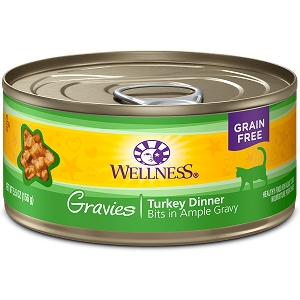 Wellness Canned Cat Complete Health™ Gravies Turkey Dinner