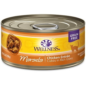 Wellness Canned Cat Complete Health™ Morsels Chicken Entree