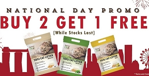 Nurture Pro Tofu Cat Litter - Buy 2 Free 1