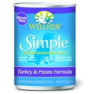 Wellness Simple Turkey And Potato Canned Dog Food