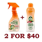 Tropiclean Flea & Tick Combo 2 for $40