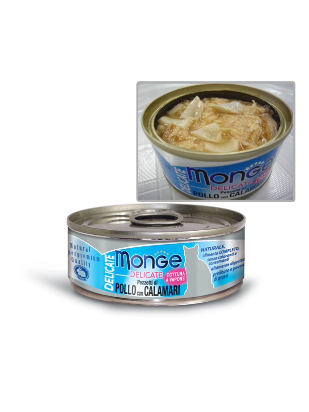 Monge Delicate Cat Canned Food