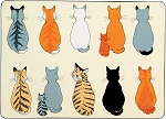 Animal Merchandise Cats in Waiting Placemats