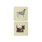 Animal Merchandise Hound dogs coasters