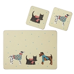 Animal Merchandise Hound dogs placemats Euro