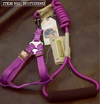 Touchdog Rope & Harness Set - Purple