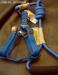 Touchdog Rope & Harness Set - Blue