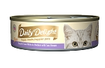 Daily Delight Skipjack Tuna White & Chicken with Sea Bream