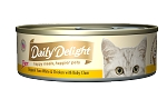 Daily Delight Skipjack Tuna White & Chicken with Baby Clam