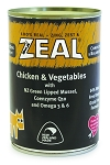 Zeal Dog Canned Food Chicken & Vegetable