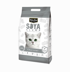 Kit Cat SoyaClump Soybean Litter Charcoal