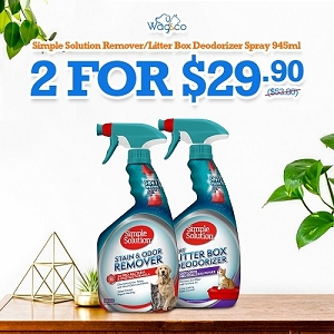 [HYGIENE CAMPAIGN] Simple Solution Stain+Odor Remover / Litter Box Deodorizer 945ml