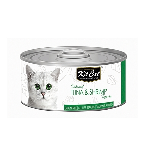 KitCat Deboned Tuna & Shrimp Toppers 80g