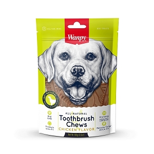 Wanpy All Natural Toothbrush Chew (Chicken)