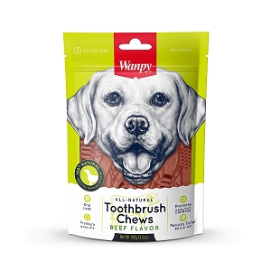 Wanpy All Natural Toothbrush Chew (Beef)