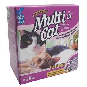 Cait Multi Cat Litter Super Strength