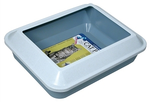 Cat It Cat Litter Pan With Guard Large