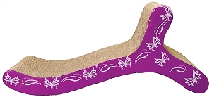 Catit Scratcher With Catnips S-Chase Butterfly