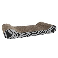 Catit Scratcher With Catnips White Tiger Lounge