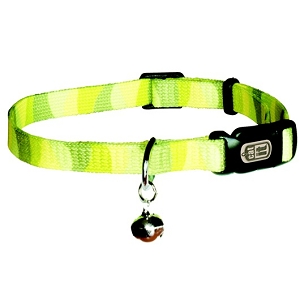 Catit Adjust Nylon Collar Small - Jungle Stripe