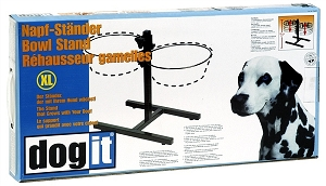 Dogit Adjustable Dinner Stand with 4.0L Bowls