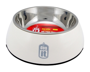 Dogit Durable Bowl w.SS Insert SM