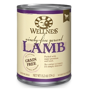 Wellness 95% Lamb, Canned Dog Food