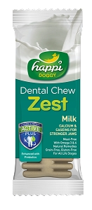 Happi Doggy - ZEST - Milk 4inch (50pcs/box)