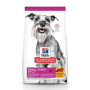 Hill's Science Diet Adult 7+ Small Paws Chicken Meal, Barley & Brown Rice Recipe dog food