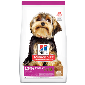 Hill's Science Diet Adult Small Paws Lamb Meal & Brown Rice Recipe dog food