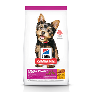 Hill's Science Diet Puppy Small Paws Chicken Meal, Barley & Brown Rice Recipe