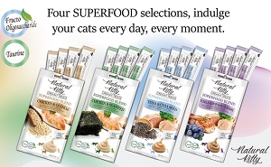 [3 For $11] Natural Kitty Creamy Treats, SUPERFOOD BLEND