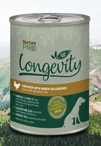 Nurture Pro Canned Longevity Chicken with Green Tea Essence