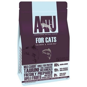 AATU for CATS Grain Free Wild Caught Salmon & Herring Dry Cat Food
