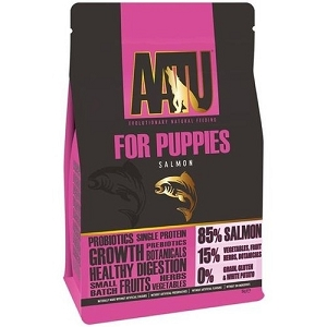 AATU For Puppies Salmon Grain Free Dry Dog Food