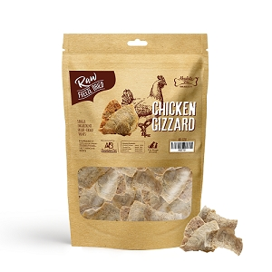 Absolute Bites Freeze Dried Raw Chicken Gizzard Dog & Cat Treats 65g