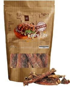 Absolute Bites 100% Real Veal Spare Ribs Dog Treats
