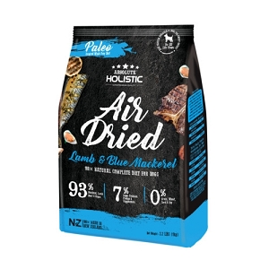 Absolute Holistic Air Dried Blue Mackerel & Lamb