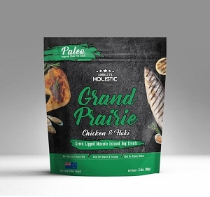 Absolute Holistic Air Dried Grand Prairie Chicken & Hoki Dog Treats