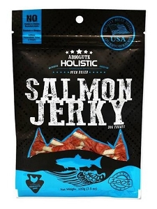 Absolute Holistic Grain-Free Salmon Dumbbell Dog Treat