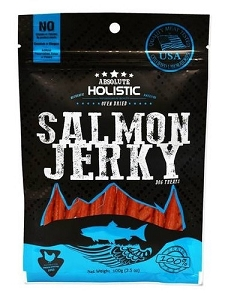 Absolute Holistic Grain-Free Salmon Loin Stick Dog Treat