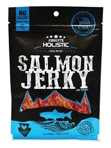 Absolute Holistic Grain-Free Salmon Steak Dog Treat