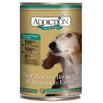 Addiction Canned Dog Food, NZ Brushtail & Vegetables Entree - Grain Free