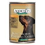 Addiction Canned Dog Food, King Salmon & Potato