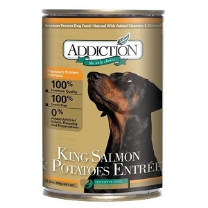 Addiction Canned King Salmon & Potato 390gm