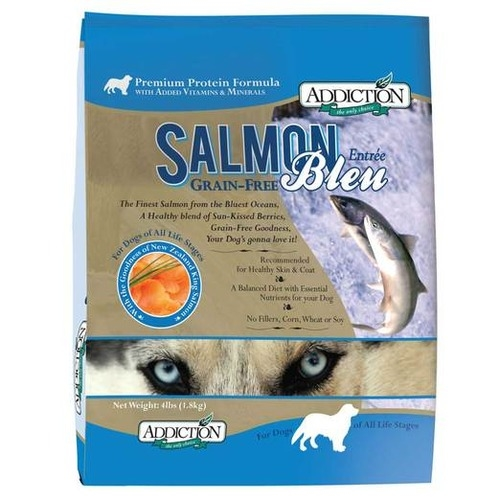 Addiction Grain Free Salmon Bleu Dry Dog Food