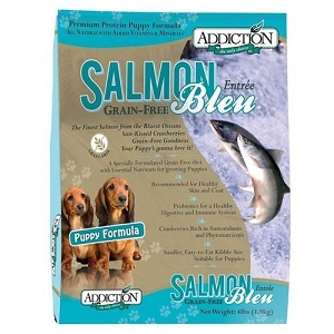 Addiction Grain Free Salmon Bleu Puppy Dry Dog Food