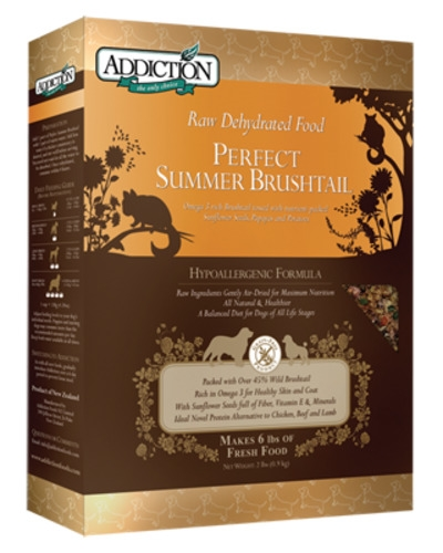 Addiction Raw Dehydrated Grain Free Perfect Summer Brushtail