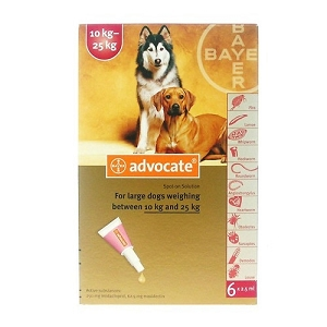 Advocate® Flea & Heartworm For Dogs (10kg - 25kg)