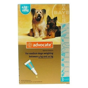 Advocate® Flea & Heartworm For Dogs (4–10kg)